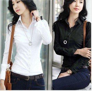 Long Sleeve Cotton Shirts Women'S | Is Shirt