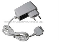 30pcs/lot,EU standard USB charger with line, special USB charger for iPad & iPad 2,  travel charger