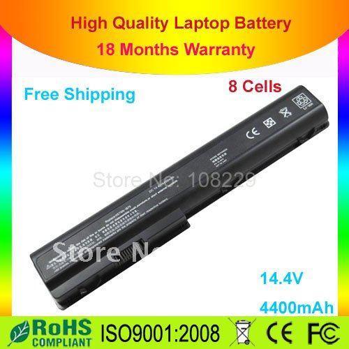 BATTERY FOR Pavilion DV7 DV8 HDX18 HDX 18 HSTNN-IB75 Laptop Notebook Computers(China (Mainland))