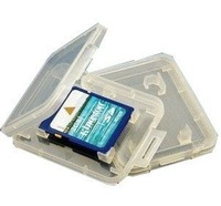 SD card plastic box  card packing