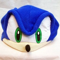 """Sonic the Hedgehog Plush Hat Hats 10"""" Cosplay Cos"""
