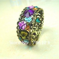 Luxury classicism Bohemian Bracelet Bangle Alloy Acrylic Bracelets Mix order 30PCS