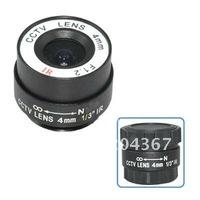 "F1.2 4mm 1/3"" CS Mount Fixed IR CCTV Camera Lens+ Free Shipping"