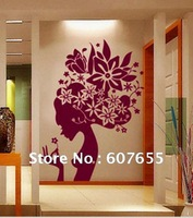 Free shipping!wholesale,5pcs/lot small Size Good Quality DIY Decoration Fashion Wall Sticker,Fairies wall sticker