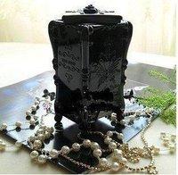 Hot Sale Brand New Elegant Jewel Case/Dressing Case/Ornament Case Top Grade Wooden Case Gift Girls