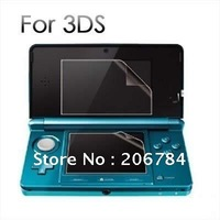 10sets/lot screen protector for 3ds free shipping