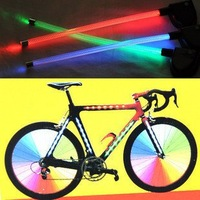 Hot wheels LED bike Light  Spoke Light  360 full blue red green 10pcs/lot  Free Shipping