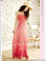 Free Shipping Bohemian Style Dress BOHO Maxi Dress