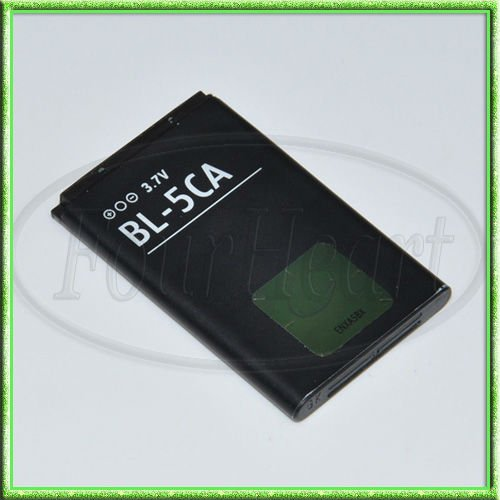 BL-5CA Battery for Nokia Cellular 6230 6600 3100 N70 N71 N91 E60 6270 6681 6670 6108 1100 Mobile Cell Phone 1200mah,50pcs/lot(China (Mainland))
