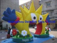 AR21 12mL*6mH  advertising  inflatable sun/cartoon arch/archway Cartoon arch  Free logo   100 Positive Feedback