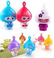 Free shipping brand new Lovely portable an onion small fan mini fan big wind