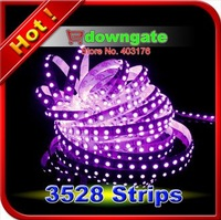 Free Shipping 50m/lot Purple 3528 SMD 600LED Romantic White PCB Strips Lights12V 7.2W/m