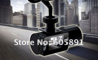 Car DVR Digital Video Camera  Free Shipping 150 Degrees Wide Angle Car Video Recorder, Car Black Box H-190