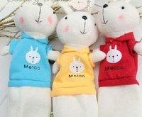 Free Shipping/Plush cartoon Rabbit pencil case/Handbag Pendant/Pencil bags/Wallet/Cosmetic Bag/Fashion Style/Wholesale
