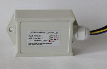 12V/6V 3A solar charge controller