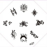 Free Shipping M21-30 Nail Art Stamp Stamping Image Template Plate DIY Nail Art Design