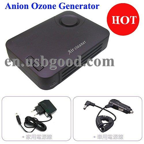 anion ozone generator with UV+activated carbon+photocatalyst+perfume(China (Mainland))