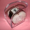 car shape Plastic Clear Watch Box good item for silicon watch retail and wholesale