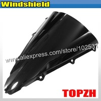 Free Shipping Black Motorcycle Windshield WindScreen Yamah YZFR1 YZF R1 R 1 02-03 Y371