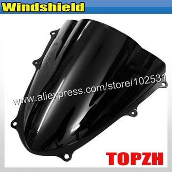 Free Shipping Black Motorcycle Windshield WindScreen Suzuki GSXR 1000 K9 09-10 Y361