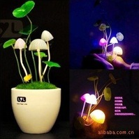 novelty gift Avatar cartoon LED sleep light lamp avatar mushroom led night light house led avatar Free shipping