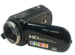 "On sale! FREE SHIPPING 2.7"" TFT 12.0 MP HD Digital Video Camcorder Camera DV BLACK(China (Mainland))"