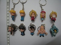 Fullmetal Alchemist Action FiguresKeychain set 10pcs