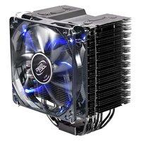 Wholesale CPU Cooler ICE BLADE PRO 4 heat pipe +120mm silence fan suitable for LGA1366/LGA1155/LGA1156/LGA775/AM3/AM2/AM2+