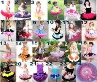 2011 hot selling pettiskirt Girls skirt 35 colors REGULAR FLUFFY girl's pettiskirt girl tutu skirt Girls dress 20pcs/lot