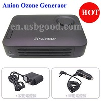 anion ozone generator with UV+activated carbon+photocatalyst+perfume for air purification
