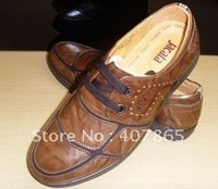 Hot styles! leather men's shoes /Men's installed business section!two pair of free shipping! /Walking Shoes size:39-45