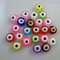 Free shipping 1000 pcs/lot 10.5mm Eye Shape Resin beads jewelry beads colorful beads