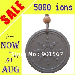 [ON SALE] Quantum Scalar Energy Pendant Necklace 5000 ~ 6000 ions Free Shipping by China Post Air Mail(China (Mainland))