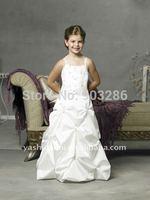 2014 Cheap Customer-Made Flower Girl Dress