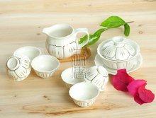 8pcs Beautiful Tea Set, Porrtery Teaset,TJ02, Free Shipping