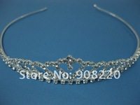 Free Shipping, Mix Different Items to Total 12pcs Each Order, Heart Tiara, Small Tiara, Bridal Tiara, Costume Jewelry TR00023