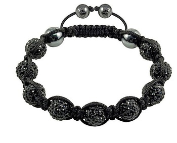 Shamballa jewelry Wholesale, free shipping, New Shamballa Bracelets Micro Pave CZ Disco Ball Bead CJB080