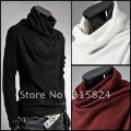 Free shipping!2011 New Autumn high neck men's sweater, casual under cotton thin sweater, men's clothing