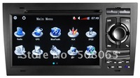 7 inch special car dvd player for SEAT EXEO with DVD/BT/TV/FM/IPOD/GPS/CAN BUS+free 2G SD GPS map-8745