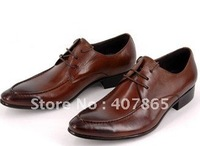 new men shoes designer shoe dress shoes cow leather business classic party wedding Groom Shoes free shipping