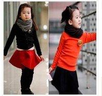 New children's autumn outfit Free shipping childdren suit, Children Clothes/ children pure cotton,,5pieces/lot,5size