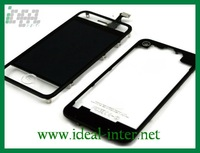 Free shipping by DHL Transparent black for iphone 4 lcd digitizer conversion kit