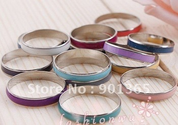 Oil Drop Copper Thin Ring 100pcs/lot