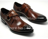 Wholesale - 2012 new style men shoes / men dress shoes/wedding dress shoes/ free shipping