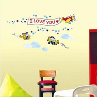 Free shipping,Decorative Love wall stickers, Lovers' gift,Fashion Home Decal,100pcs/lot,TC1096