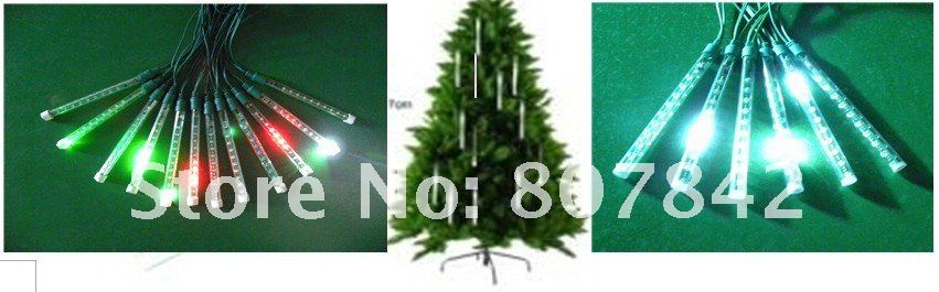 wholesale beautiful mini LED flash light 40cm 12pcs tubes light  ,specially decoration