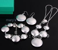 925 silver bracelet&necklace&earring,925 bracelet necklace earring,925 set