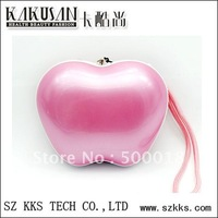 pink stylish fashion design kakusan apple -shaped digal mp3 player