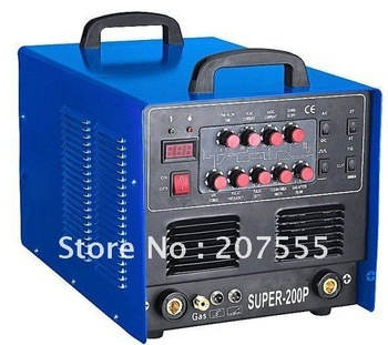 NEW SUPER200P AC/DC TIG/STICK/CUT/PULSE Welding Machine free shipping