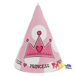 Birthday supplies/one year old boy conical cap/theme party supplies/theme party/party supplies / 12PCS(China (Mainland))